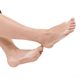 Silikoninė deformuoto kojos nykščio apsauga Hallucomfort